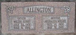 Arthaleen <i>Wright</i> Allington