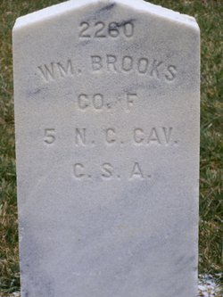 Pvt William Brooks