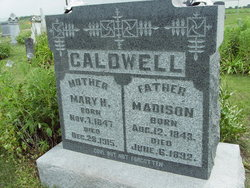 Mary H <i>Millen</i> Caldwell