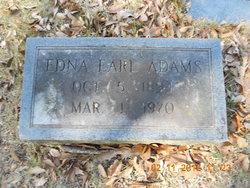 Edna Earl Adams