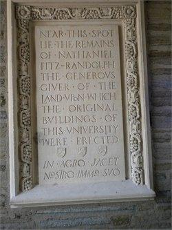 Nathaniel Fitzrandolph