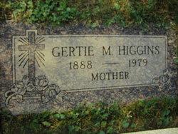 Gertie Marie <i>Nelson</i> Higgins