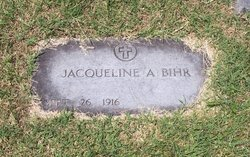 Jacqueline Ann <i>Chrane</i> Bihr