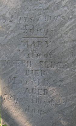Mary <i>Wolff</i> Elder