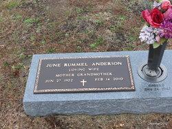 June Louise <i>Rummel</i> Anderson