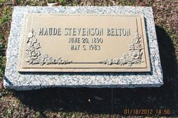 Mrs Maude <i>Stevenson</i> Belton