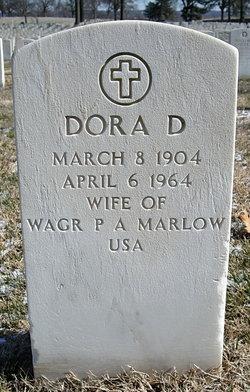 Dora Dean <i>Taylor</i> Marlow
