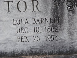 Lola <i>Barnett</i> Proctor