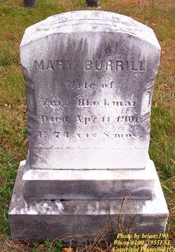 Mary <i>Burrill</i> Blackmar