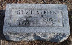 Grace <i>McKeen</i> Brown