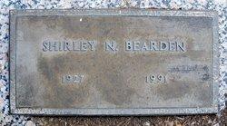 Shirley D <i>Norman</i> Bearden