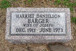 Harriet <i>Danielson</i> Barger