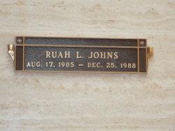 Ruah L <i>Pool</i> Johns