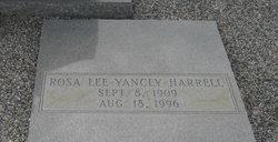 Rosa Lee <i>Yancey</i> Harrell