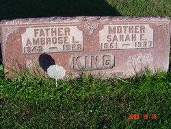 Sarah E. <i>Collinson</i> King