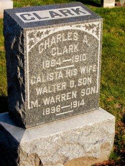 Calista <i>Van Sickle</i> Clark