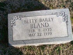Betty Bailey Bland
