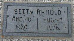 Betty <i>Moore</i> Arnold