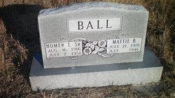 Mattie B Ball