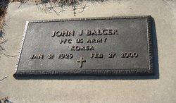 PFC John J. Balcer