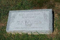 Mary Julia <i>Dean</i> Beauchamp