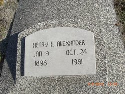 Henry F Alexander