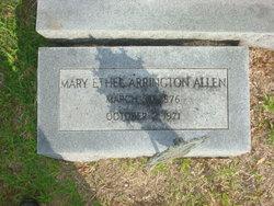 Mary Ethel <i>Arrington</i> Allen