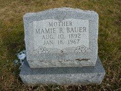 Mamie R <i>Mathias</i> Bauer