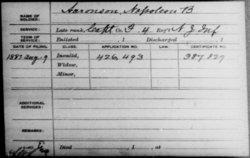 Capt Napoleon B. Aaronson