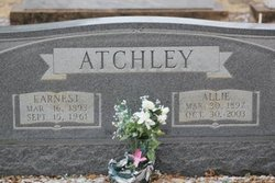 Allie Mae <i>Flippen</i> Atchley