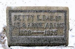 Betty E Adams