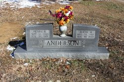 Bertie Mae <i>Smith</i> Anderson