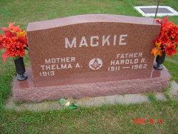 Thelma A. <i>Craig</i> Mackie