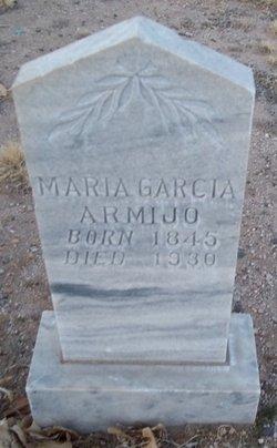 Maria <i>Garcia</i> Armijo