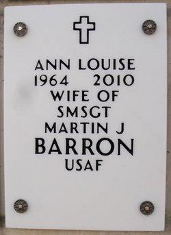 Ann Louise <i>LaPointe</i> Barron