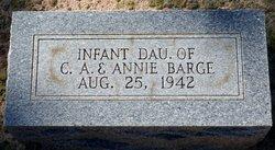Infant Daughter Barge