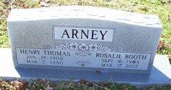 Rosalie Rosie <i>Booth</i> Arney