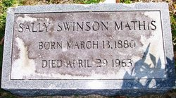 Sallie Malissa <i>Swinson</i> Mathis