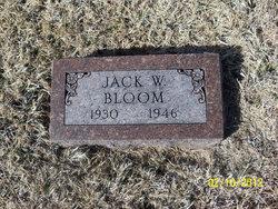 Jack W Bloom