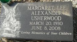 Margaret Lee Maggie <i>Alexander</i> Usherwood