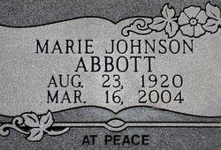 Marie <i>Johnson</i> Abbott