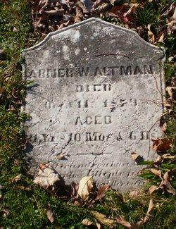 Abner W. Altman