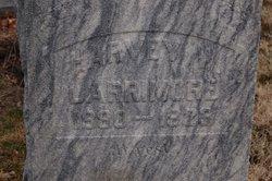 Harvey Webster Larrimore