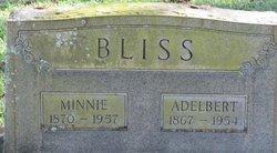 Minnie M. <i>Hutcheson</i> Bliss