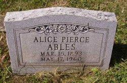 Alice <i>Might</i> Ables