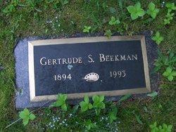 Gertrude <i>Swenson</i> Beekman