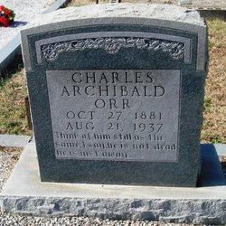 Charles Archibald Orr