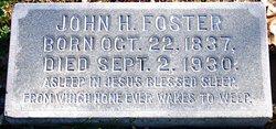John H Foster