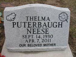 Thelma <i>Puterbaugh</i> Neese