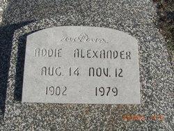 Addie Alexander